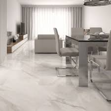 calacatta white gloss floor tiles beige design