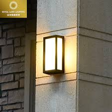 fashion modern brief vintage outdoor wall lamp waterproof lighting ing outdoor walls balcony gazebo ip54 e27 bulb in wall lamps from lights lighting