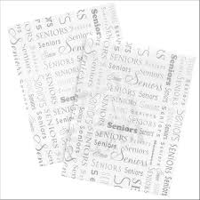 Tissue Inserts For Graduation