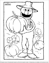 Free printable sesame/street coloring pages for kids that you can print out and color. Sesame Street Printable Coloring Page Coloring Library