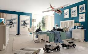Kids Room:Phenomenal Kids Room Ideas Boy With Red White And Teal  Aeronautical Themed Boys