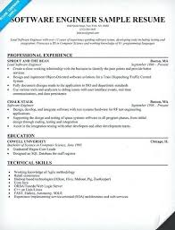 Best Resume For Software Engineer Resume Format For Software Engineer Fresher Doc Best Engineers