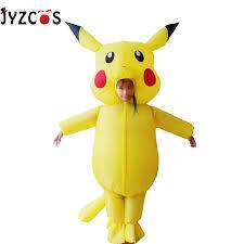 JYZCOS <b>Pikachu Pokemon Inflatable Costume</b> Purim Halloween ...