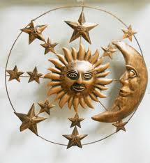 regal flamed copper sun wall decor 21