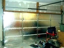 insulated garage door cost glass doors panels do