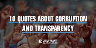 40 Quotes About Corruption And Transparency To Inspire You Enchanting Corruption Quotes