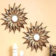 mirror wall decor set image of decorative sets 3 piece mirror wall decor set