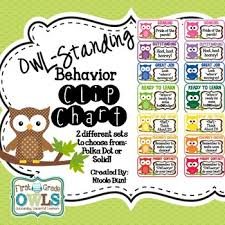 Owl Behavior Clip Chart Owl Standing Behavior Clip Chart