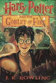 harry potter and the goblet of fire childrens book cover