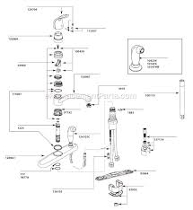 moen two handle kitchen faucet repair diagram wiring