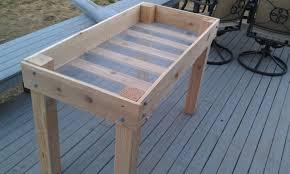 photo 4 of 7 diy raised vegetable garden beds garden design with build elevated garden beds simple hit home