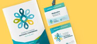 Design Conference Program Conference Program Badge And Pocket Agenda Print Design