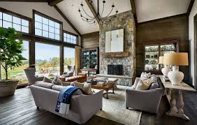 Design stunning living room Luxury Living Contemporary Rustic Farmhouse With Stunning Living Spaces In Rural Oregon Architecture Art Designs Contemporary Rustic Farmhouse With Stunning Living Spaces In Rural