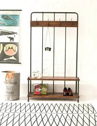 Free Standing Coat Rack With Shelf Entryway Bench Coat Rack Ezpassclub 52