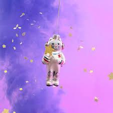 Weltraum Katze Christbaumschmuck