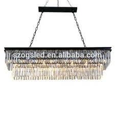 odeon glass fringe rectangular chandelier light clear glass fringe rectangular chandelier retro odeon glass fringe rectangular