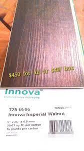 innova imperial walnut vinyl flooring planks