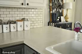 diy concrete countertop overlay concrete masonry countertops kitchen backsplash