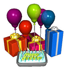Birthday cake and balloons clipart 2 – Gclipart