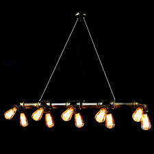 industrial track lighting industrial track lighting zoom. LOFT Edison Bulbs And Industrial Water Pipe Pendant Lighting 929. Loading Zoom Track