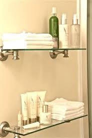 towel storage above toilet. Towel Shelf Over Toilet Floating Shelves Bathroom Rack Storage Above L