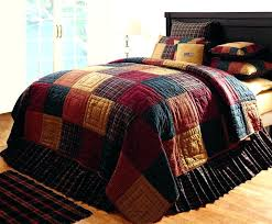 French Country Patchwork Quilted Bedspread Set Oversize King ... & French Country Patchwork Quilted Bedspread Set Oversize King Country And  Primitive Bedding Quilts Old Glory Bedding Adamdwight.com