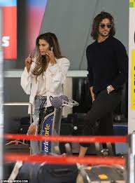Delta lea goodrem (born 9 november 1984 in sydney, australia) is an australian singer/songwriter, pianist, and actress—most notably the role of nina tucker on the australian soap neighbours. Delta Goodrem And Boyfriend Matthew Copley Jet Into Melbourne Daily Mail Online
