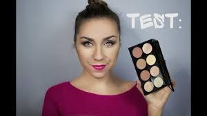 test paleta do konturowania makeup revolution ultra contour palette