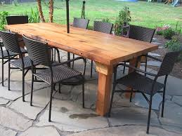 wooden outdoor table plans. Excellent Stylish Wooden Outdoor Table Round And Chairs Inside Wood Patio Tables Modern Plans