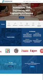 Dallas Web Design Website Design By Modassic Marketing For The Dimension Group
