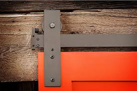 image of sliding barn door track ideas