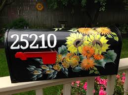 hand painted mailbox designs. Hand Painted Mailbox Designs X