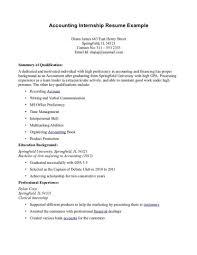 Format For Resume Internship Luxury Objective Computer Science