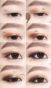 image result for korean beauty eye makeup