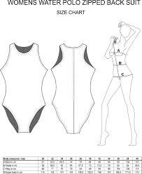 Icon Swim Size Chart Size Charts H2otogs Team Club Custom Design Swimsuits