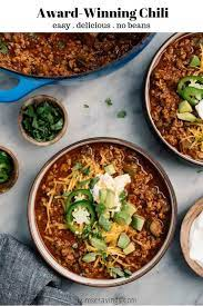 beef chili recipe kim s cravings