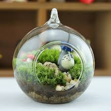 Decorative Hanging Glass Balls Amazing 32pcsset 32cm Flat Bottom Hanging Glass Balls Ornament Succulent