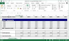 excel business budget template business budget template excel