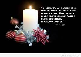 Candle Quotes Adorable Candle Christmas Quote