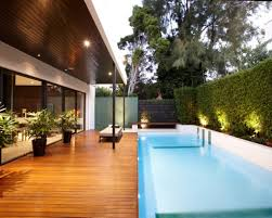 Wooden Pool Decks Modern Luxury Home Design With Amazing Finished Wooden Pool Deck