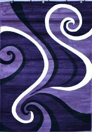 purple and white area rug purple black white modern abstract swirls area rug carpet black purple purple and white area rug