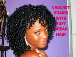 Afro Braid Hair Style crochet braids with soft dread hair youtube 1576 by wearticles.com