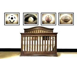 mickey mouse nursery themes sports baby theme crib bedding vintage football decorations