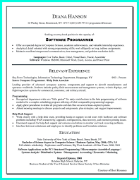 Computer Programmer Resume Has Some Paragraphs That Focuses On The