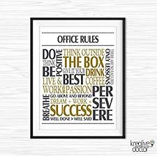 inspirational office decor. Wonderful Decor Office Wall Art Motivational Decor Inspirational Quote Success Quotes  Printable Poster Sayings Canvas With A