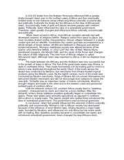 imperialistic africa essay africa during the th century was 1 pages islamic africa essay