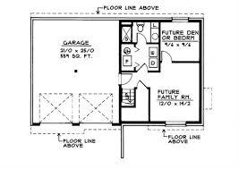 How To Design Basement Floor Plan Impressive Small Traditional MultiLevel House Plans Home Design DDI4848
