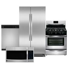 Kitchen Packages Appliances Stainless Steel Kitchen Appliance Package Home Depot