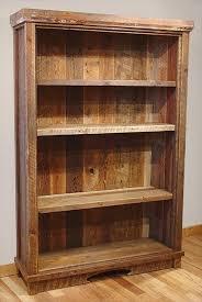 cool wood bookshelves on recycled pallet wood bookcase wood bookshelves