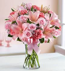 pink floral arrangements. Simple Arrangements Expressions Of Pink With Floral Arrangements